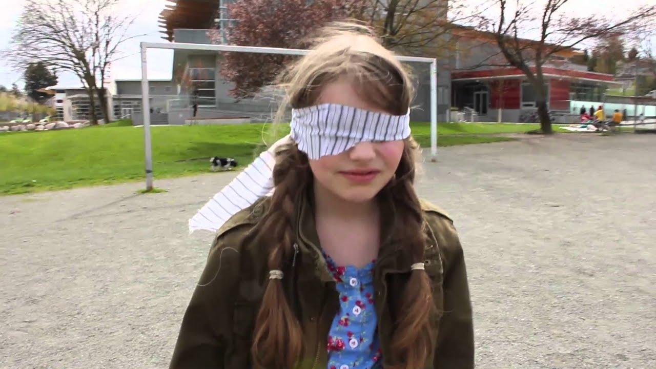 Blindfolded Walking Tour - YouTube