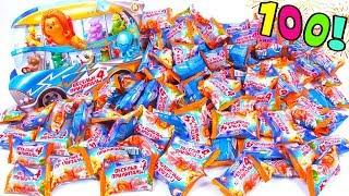 100 сюрпризов Веселые прилипалы 4 Дикси!! Распаковка коллекции Stickies Unboxing Surprise Toy(, 2018-11-01T12:46:59.000Z)