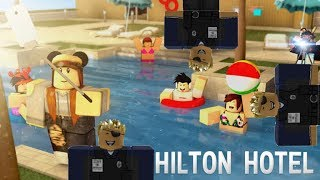 Roblox Hilton Hotel V5 Tour!