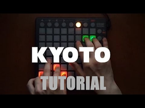 Skrillex - KYOTO (GHET1 Launchpad cover) [TUTORIAL]