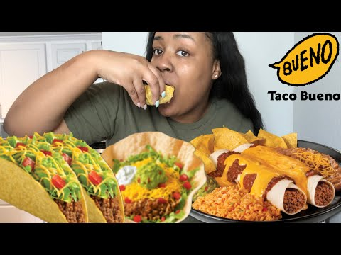 TACO BUENO MUKBANG TACO THURSDAY STRUGGLE BURPS!