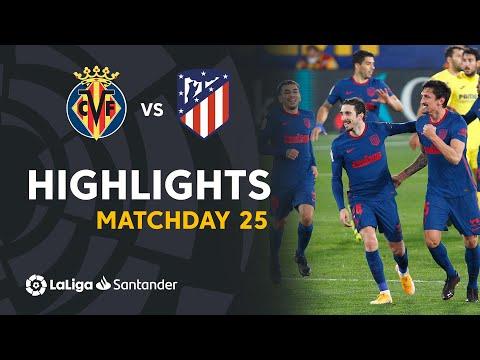 Villarreal Atletico Madrid Goals And Highlights