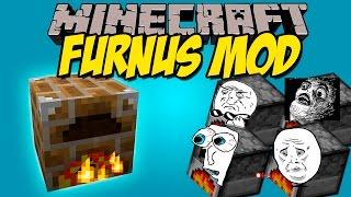 FURNUS MOD - El Super Horno!! - Minecraft mod 1.7.10 Review ESPAÑOL