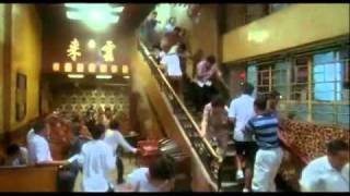 HARD BOILED teahouse scene CHOW YUN FAT directed by JOHN WOO