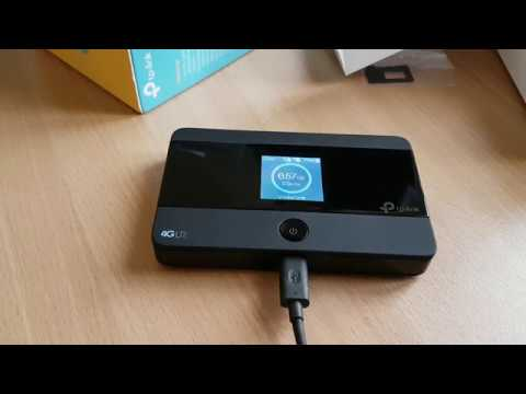 Tp Link M7350 V4 Mobile Personal Wifi Unbox And Review Youtube