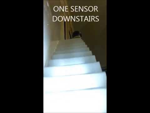 TRAP VERLICHTING - AUTOMATIC STAIRS LIGHTS √ - YouTube