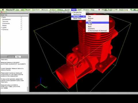 Viewing CAD Files With Afanche3D On Mac