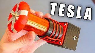 Мини Катушка Тесла на 3D Принтере Своими Руками [Проект A3DPSE-1200]