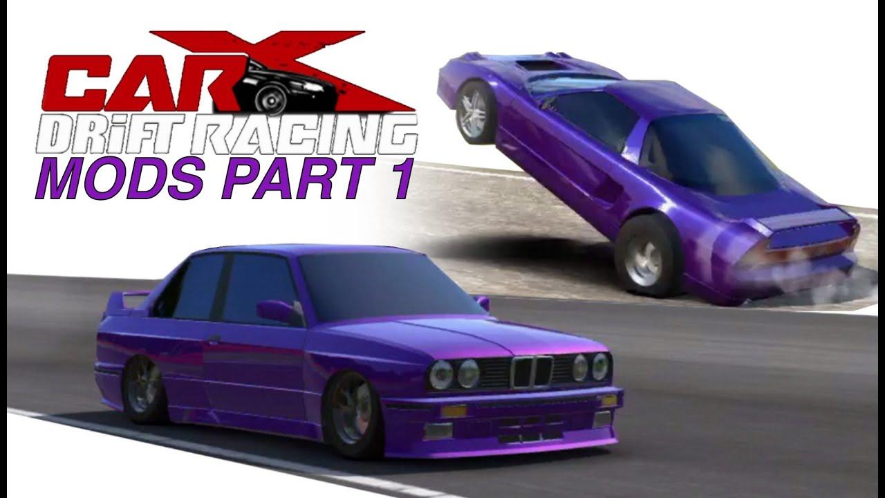 Carx Drift Racing Mods Part Drag Nsx Slammed Youtube