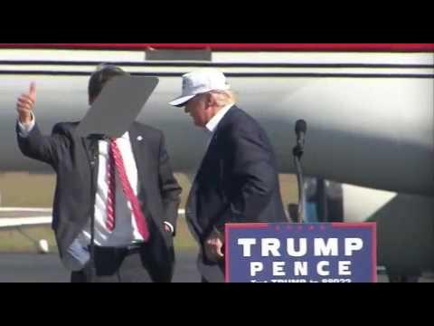Donald Trump and Pat McCrory, Wilmington, NC, 11/5/16