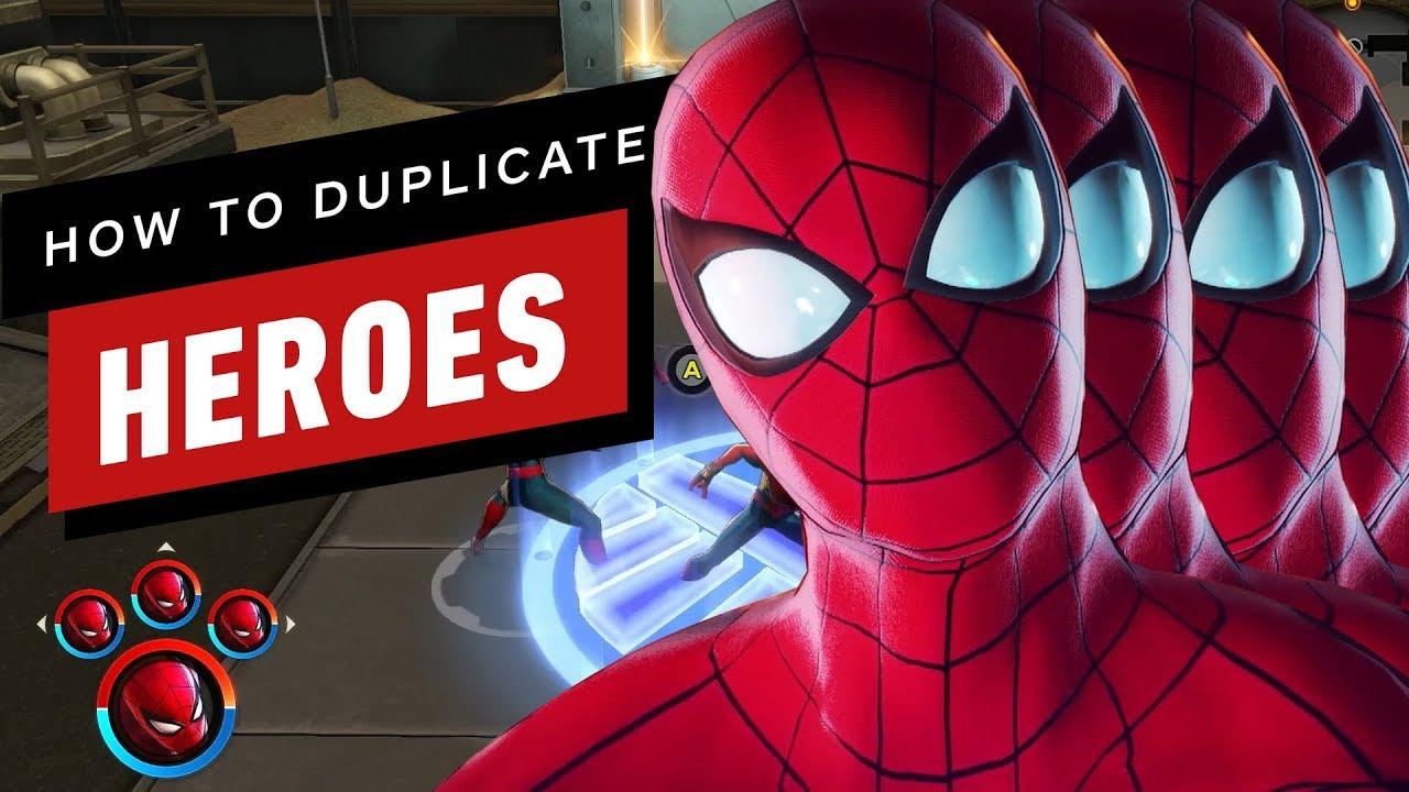 Marvel Ultimate Alliance 3: So erstellen Sie doppelte Helden + video