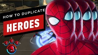 Marvel Ultimate Alliance 3: How to Create Duplicate Heroes