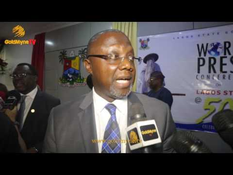 LAGOS STATE GOVERNMENT HOLDS WORLD PRESS CONFERENCE TO ANNOUNCE ACTIVITIES FOR LAGOS AT 50