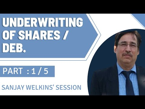 Underwriting of shares - class - 1