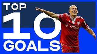 TOP 10 | De mooiste goals van Arjen Robben