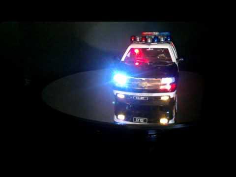 Tahoe police car