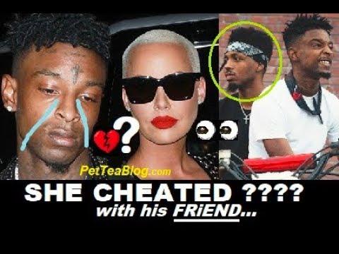 Amber Rose Address Cheating on 21 Savage &...
