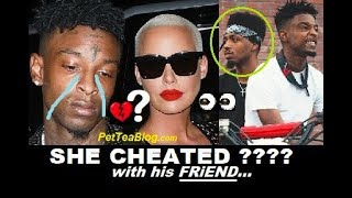 Amber Rose Address Cheating on 21 Savage & Dark Girls in Philly, ETC 👀