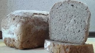 Ржаной хлеб - хлеб без замеса теста