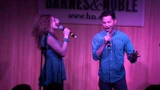 [3/3] Lauren Molina and Jason Tam - Marry Me A Little Medley (live) @ Barnes & Noble, NYC, 1/13/14