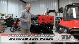 ATV Television - Rotopax Fuel Packs install on Suzuki King Quad 750