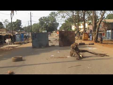 Lundi sans circulation dans la ville de Conakry, ce 20 février 2017