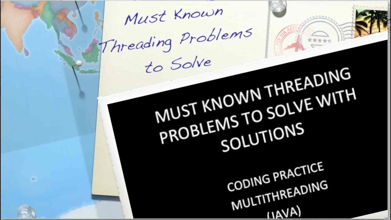 Five Must Known java Threading Problems to Solve for Coding/interview with  Solutions