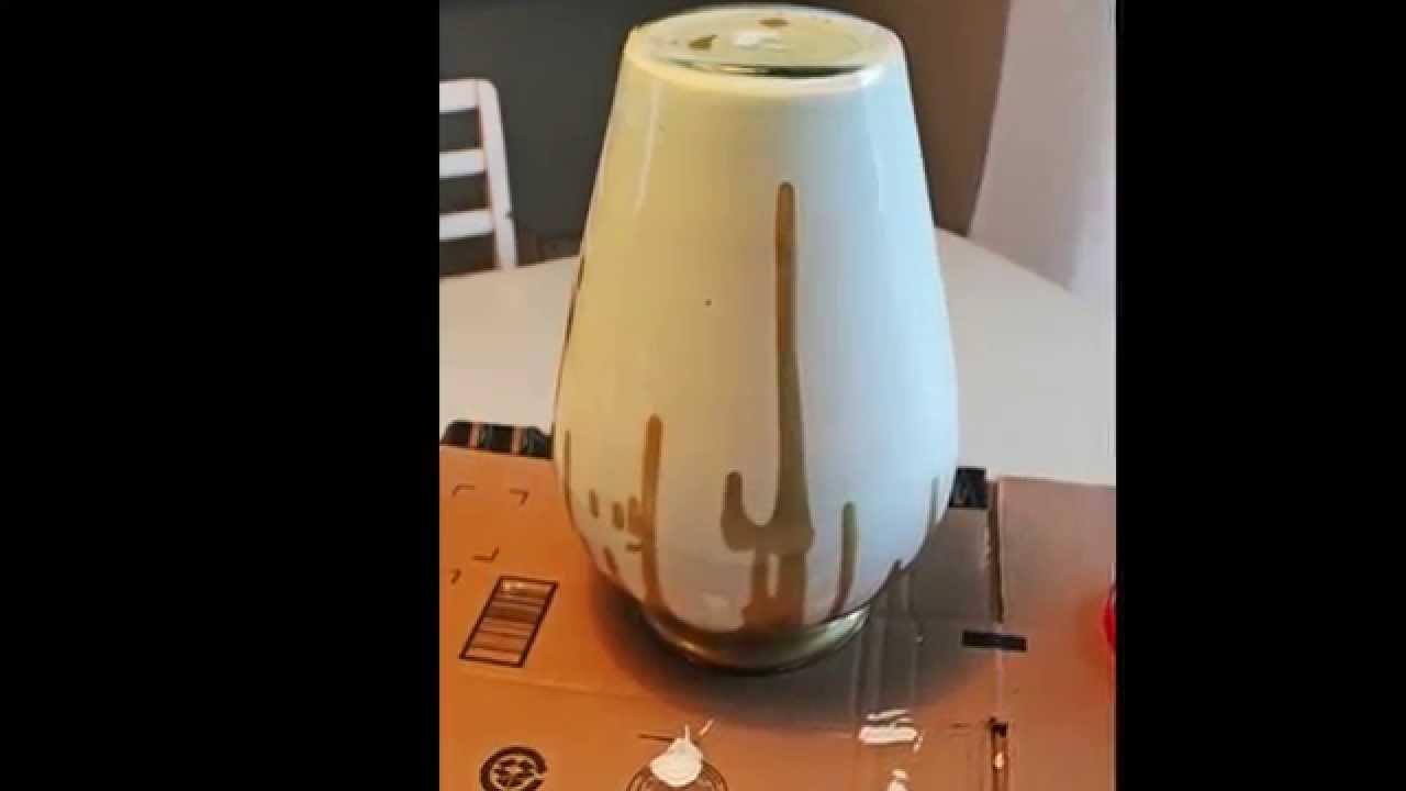 Декор стеклянной вазы своими руками фото 928