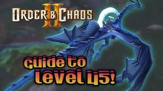 Order and Chaos 2: Redemption - Guide to level 45 & beyond
