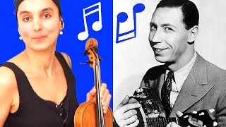 George Formby | When I'm Cleaning Windows | Violin Cover By Eva Alexandrian