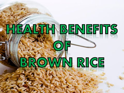 10 Health Benefits of Brown Rice