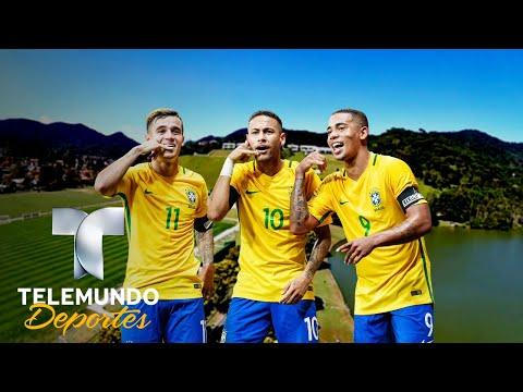 ¡El lujoso complejo de Brasil! | Copa Mundial FIFA Rusia 2018 | Telemundo Deportes