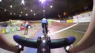 POV Racing on the Steepest Velodrome in the world.