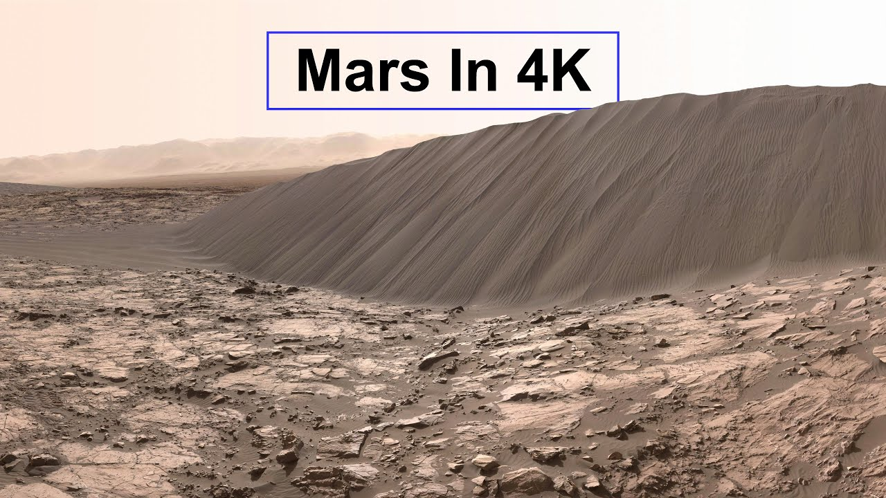 Planet MARS in 4K Resolution - Latest Astronomy Videos