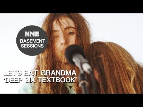 Lets Eat Grandma, 'Deep Six Textbook' - NME Basement Sessions