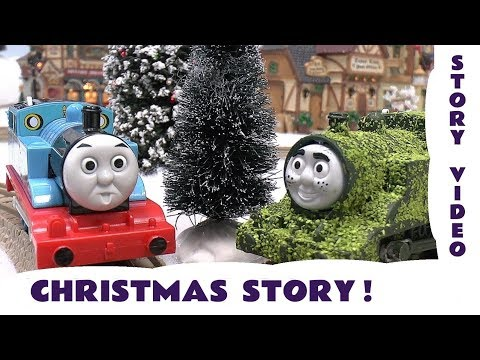Tom Moss The Prank Engine Christmas Prank Thomas and Friends Funny Kids Train Toy Story Episode 4