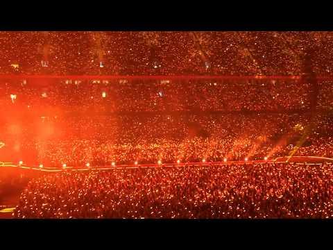 Coldplay Fix You Live Principality Stadium Cardiff Wales (11/7/17)