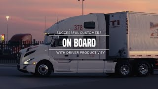 Volvo Trucks — Customers On Board with Driver Productivity