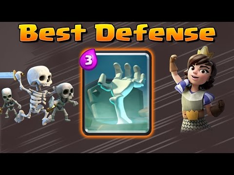Clash Royale Best Defense = Tombstone   Best Decks and Strategy with Tombstone