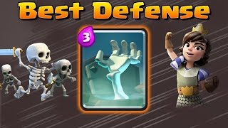 Clash Royale Best Defense = Tombstone | Best Decks and Strategy with Tombstone
