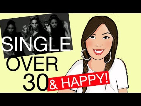 woman single and happy