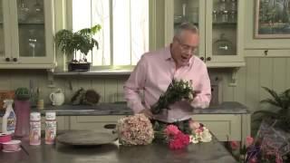 Свадебный букет из гортензии, герберы, каллы и розы. Харьков.
