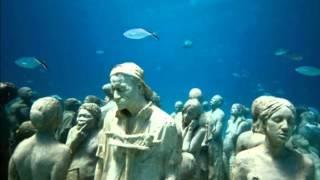 Esculturas bajo el agua