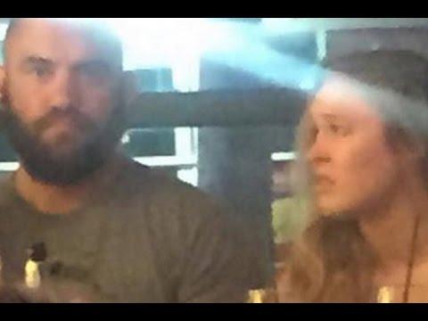 Ronda Rousey Dating Travis Browne - UFC 193