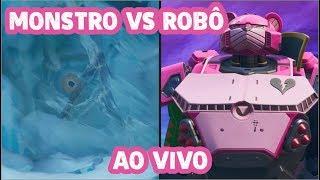 Qual time vc é? Monstro ou Robô?