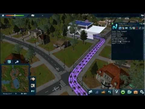Cities in Motion 2 - Trolleybus and tram tutorial |