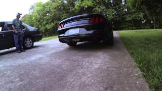2015 Ford Mustang - Roush Axle Back Exhaust Sound