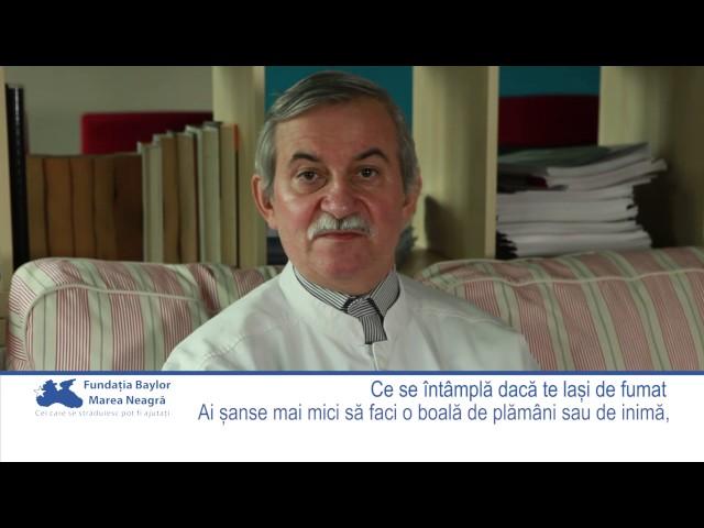 Dr. Emanoil Vasiliu explică ce se întâmplă cu sănătatea ta dacă te laşi de fumat