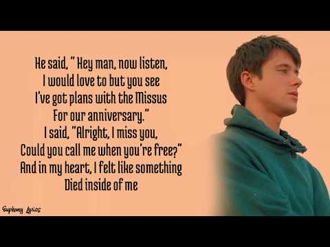 Alec Benjmin - How It Feels To Be Replaced (Lyrics)