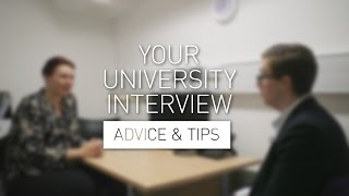 Your University Interview - Advice & Tips thumbnail